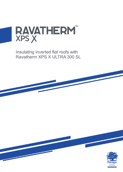 Insulating inverted flat roofs with Ravatherm XPS X ULTRA