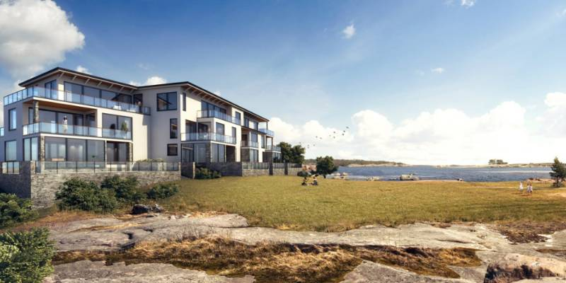 Premium apartments near the sea