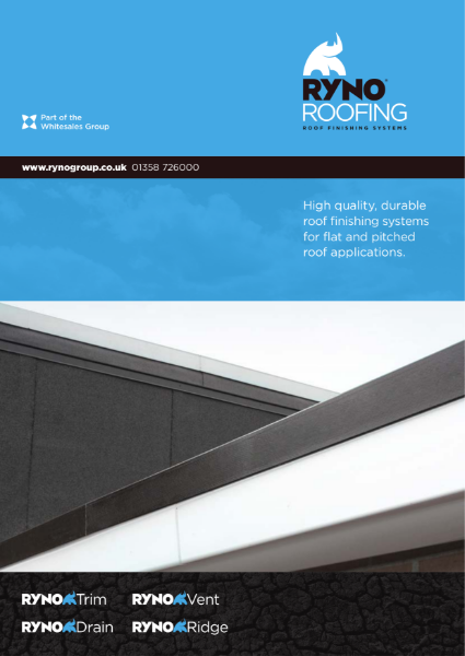 Brochure - RynoRoofing - Roof Finishing Products
