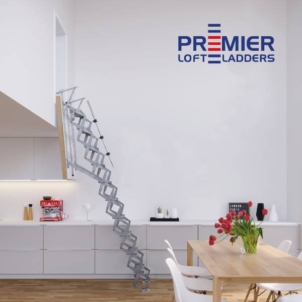 Supreme Vertical loft ladder specification available from NBS Plus