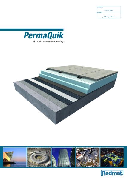PermaQuik - Hot melt bitumen waterproofing