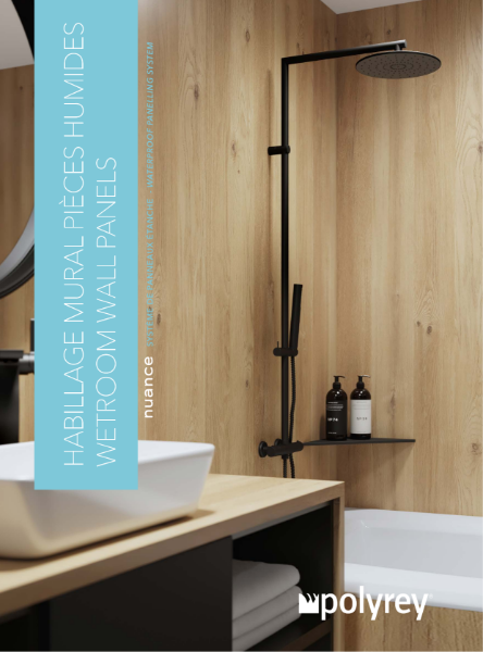 Nuance Wetroom Wall Panelling System