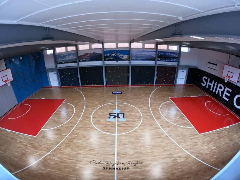 Shire Oak Sports Floor Case Study