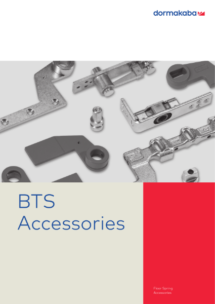 DORMA BTS Floor Spring Accessories