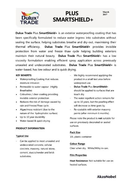 Dulux Trade SmartShield+