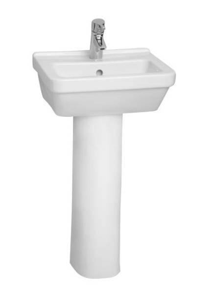 VitrA S50 Washbasin, 45 cm, Square, 5308