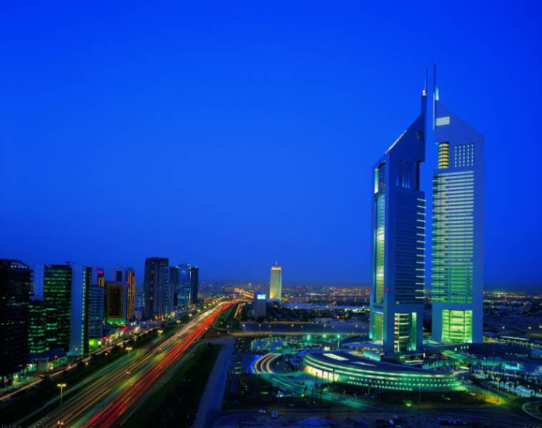 Emirates Towers - A Delmatic lighting management system manages and monitors lighting throughout the iconic towers