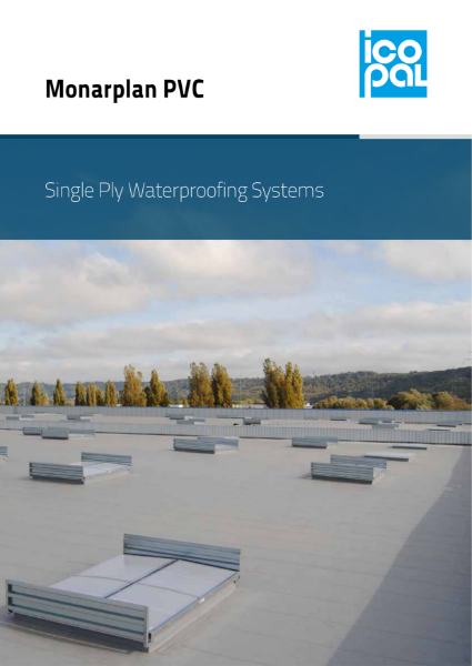 Icopal Monarplan PVC Single Ply Membrane Roof Waterproofing Systems