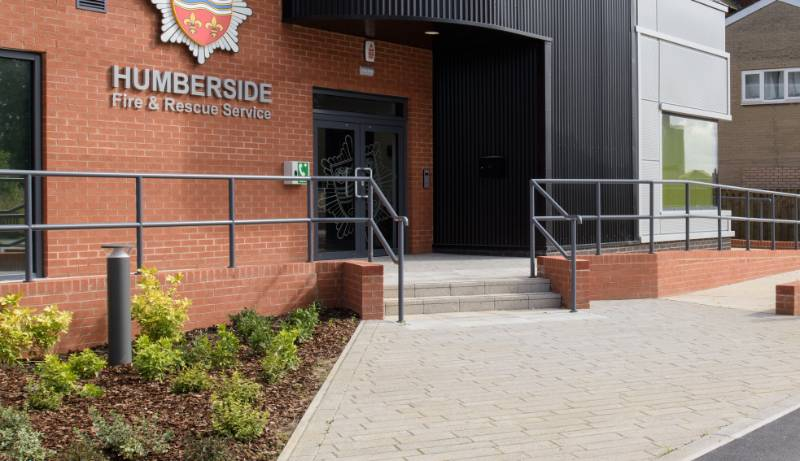 Neaco balustrade called into service at new fire station