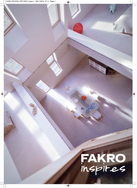 FAKRO Inspires - International Case Studies