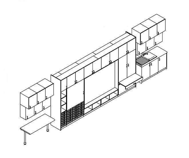 Teaching Wall Configuration TW/13