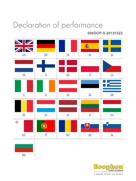 Advantage - Declaration of Performance