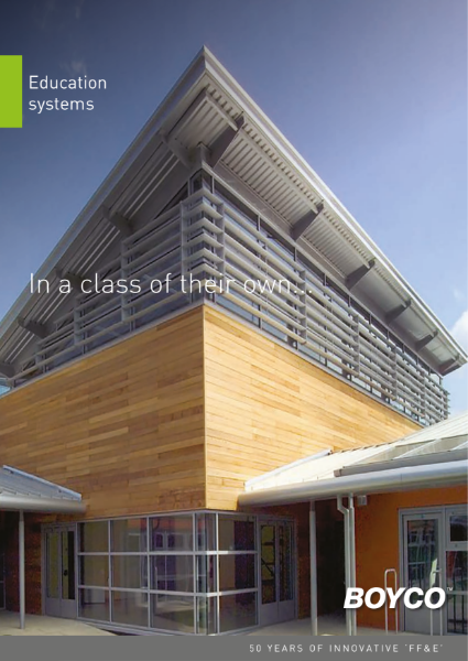 BOYCO UK - Education Brochure