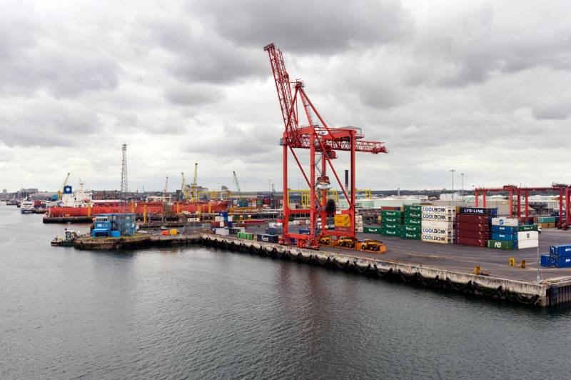 ACO RoadDrain provides a sealed monocast solution in Dublin Port