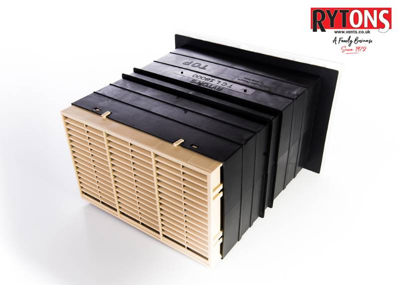 TALH&M - Rytons 9 x 6 Acoustic AirLiner® Set with Hit & Miss Ventilator