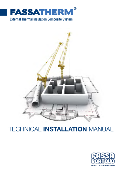 Fassatherm - Technical Installation Manual