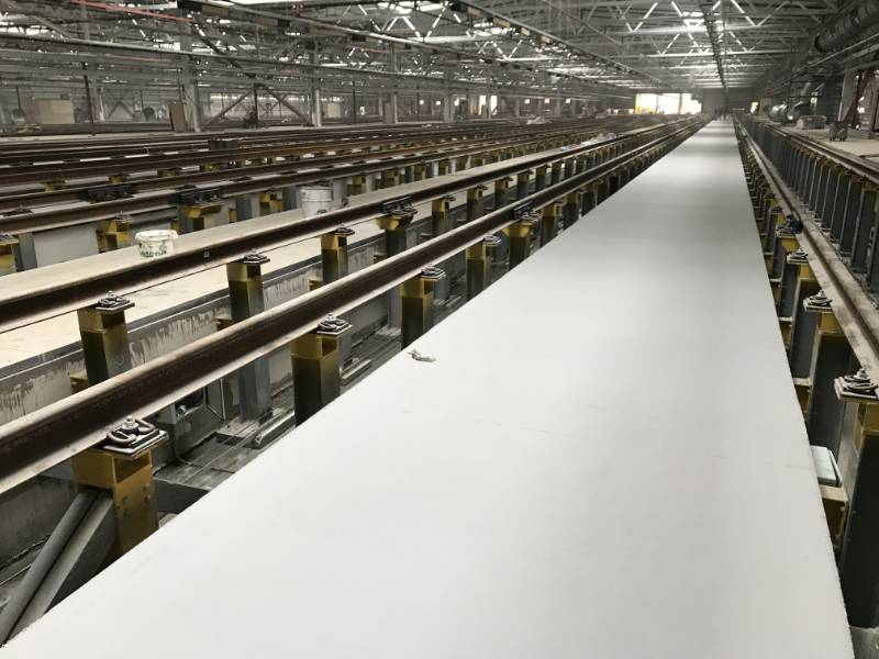 FasTop RS69 provides the toughest flooring solution for one of Moscows busiest rail maintenance depots