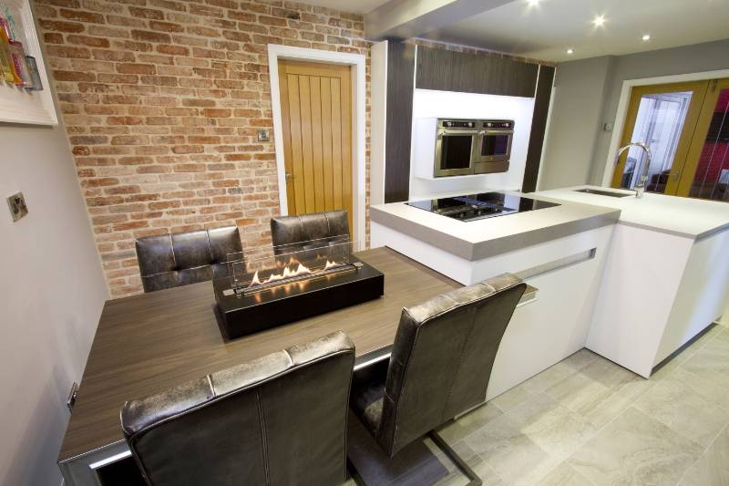Bioethanol fires light up kitchen and bedroom of Bury family