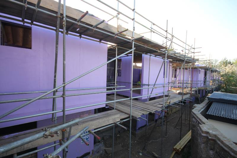 A development by Emerson Properties of two and three bedroom terraced homes on a brownfield site in South London is making use of Magply boards' fire resistance and other physical benefits.
