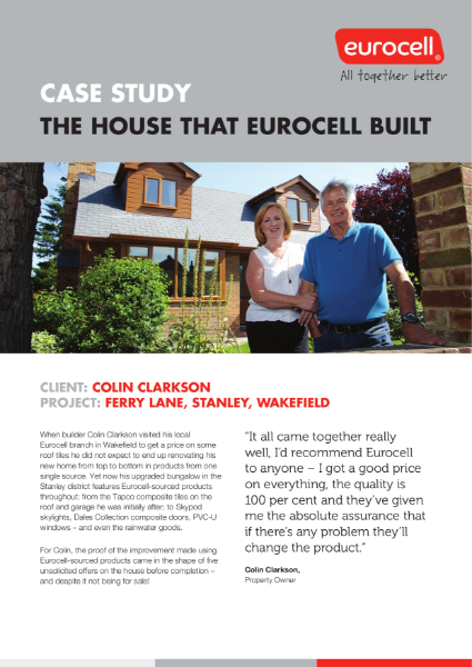 Colin Clarkson Ferry Lane Case Study