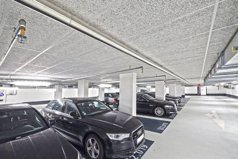 Soffit Lining Multistorey Car Parks