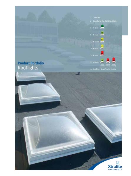 Rooflights Product Portfolio