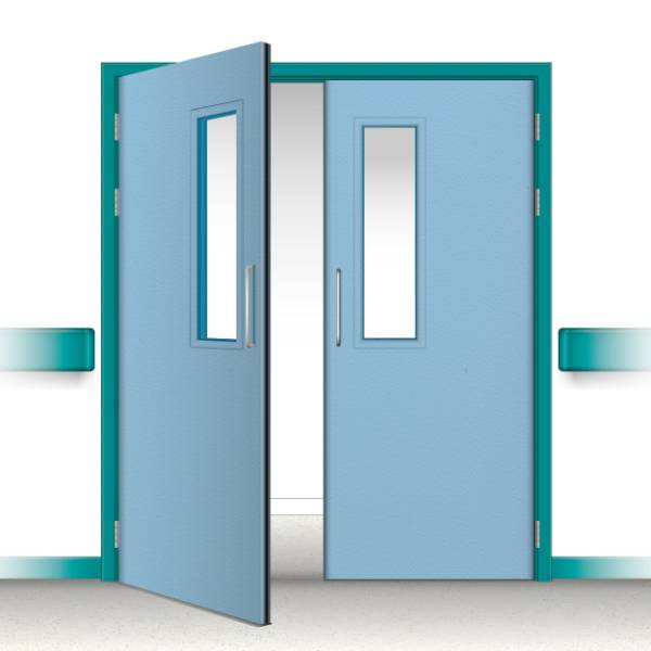 Postformed Double Doorset - Vision Panel 11