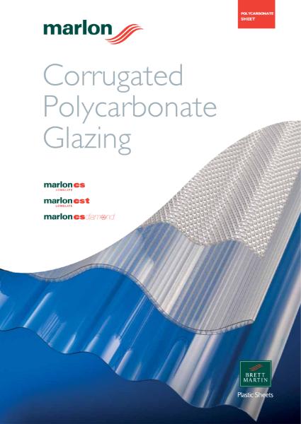 Profiled Polycarbonate Glazing - Marlon CS, CST Longlife, CS Diamond