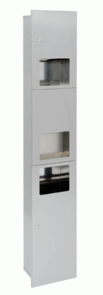 BC28SCA Dolphin Velocity Satin Stainless Steel Combination Unit