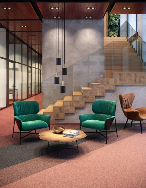 Auxiliary Carpet Tile Collection: Complement