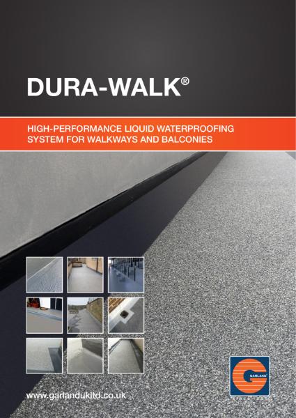 Dura-Walk Liquid Waterproofing System - Garland