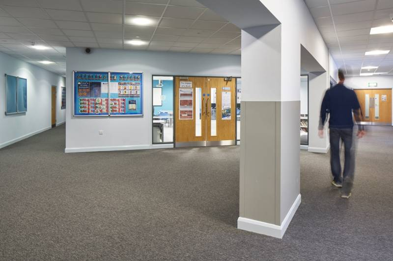 Wall Protection - Nottingham Free School