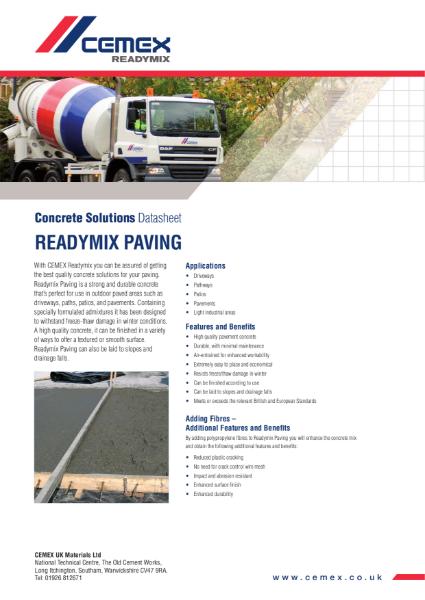 Readymix Paving
