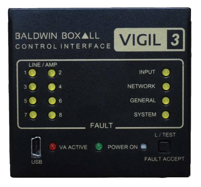 VIGIL3 Audio Output Module