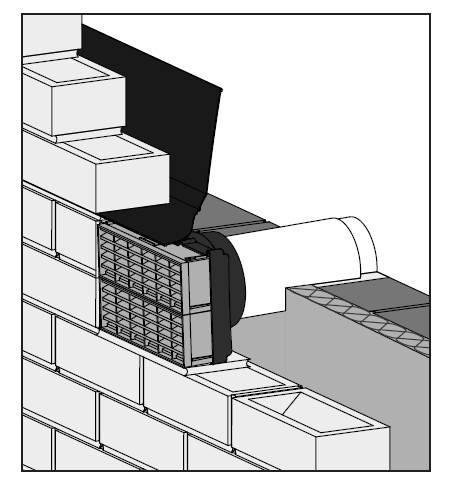 Thru...Air® Build In Telescopic Air Brick System