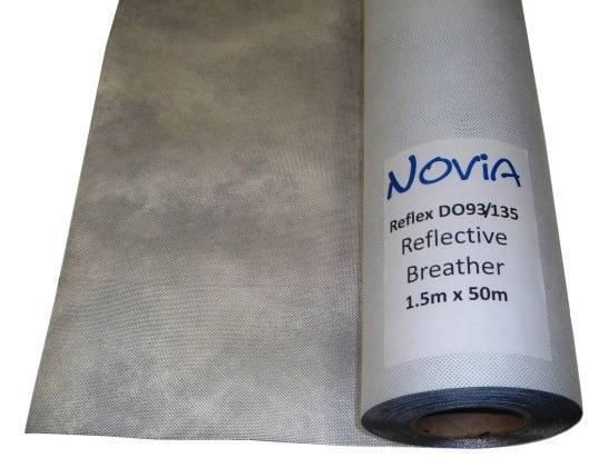 Novia Reflex Reflective Breather Membrane