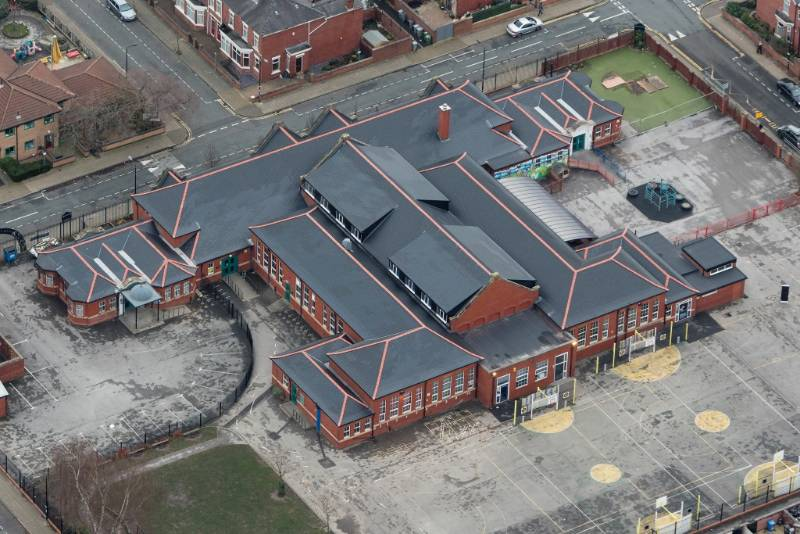 Combining a Range of IKO Roofing Waterproofing Systems to Refurbish a School Roof