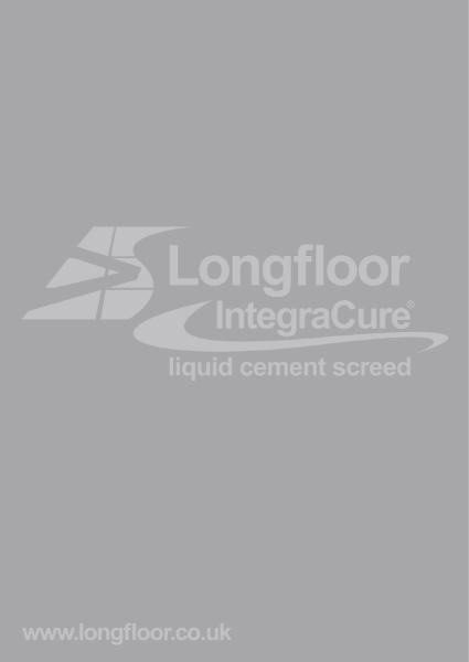 Longfloor IntegraCure Brochure