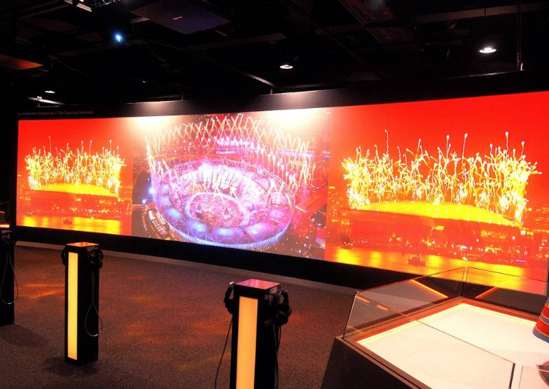 The Olympic Museum - AV Projection & Interactive Exhibits Let the Games Begin