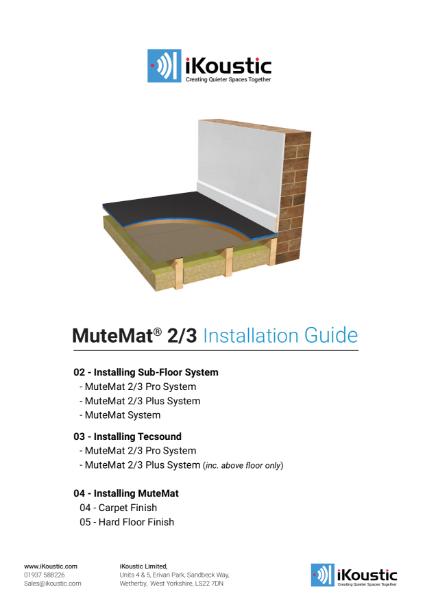 MuteMat Installation Guide
