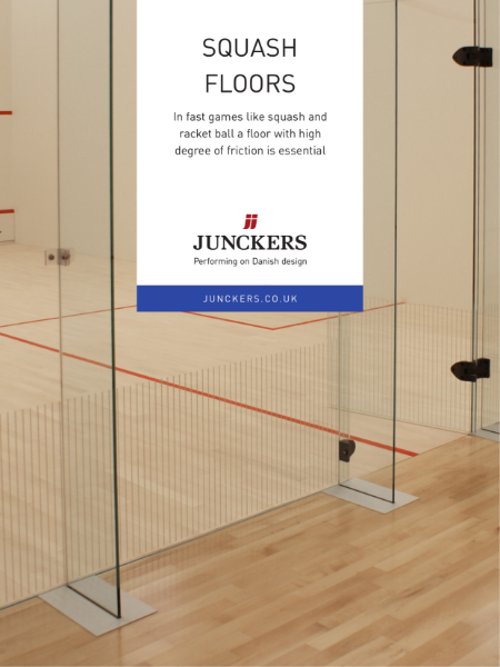 Junckers Sports Flooring Systems - Squash Flooring
