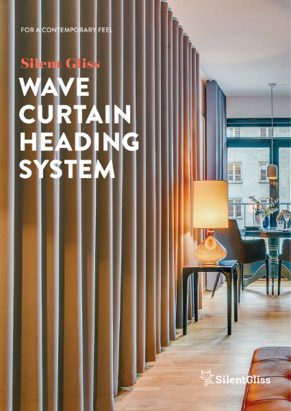 Wave Curtains Brochure by Silent Gliss
