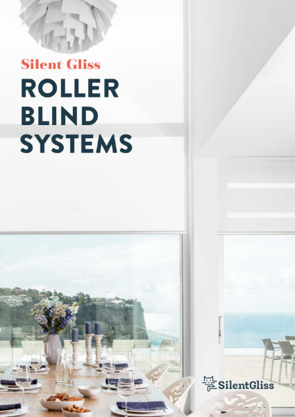 Roller Blinds Brochure by Silent Gliss