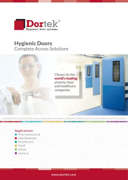 7. Dortek Hygienic Doors Brochure