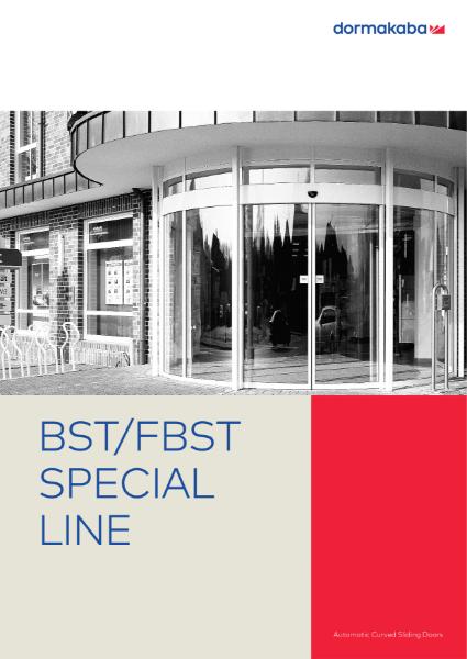 DORMA BST/FBST COMFORT LINE - Curved Sliding Doors