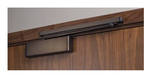 Cam Action Spring Adjustable Power Door Closer EN2-5 Slide Arm Semi Radius Cover G-Type (HUKP-0104-02)