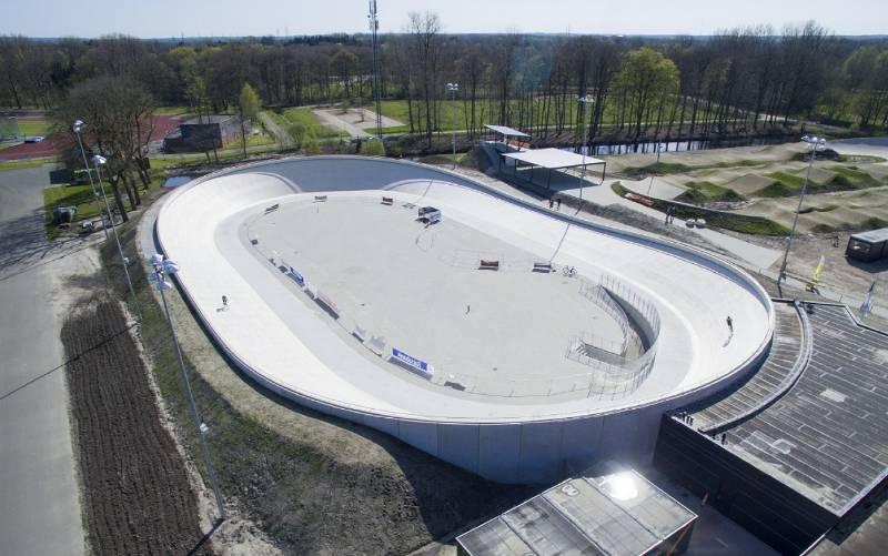 Accoya® chosen for outdoor velodrome