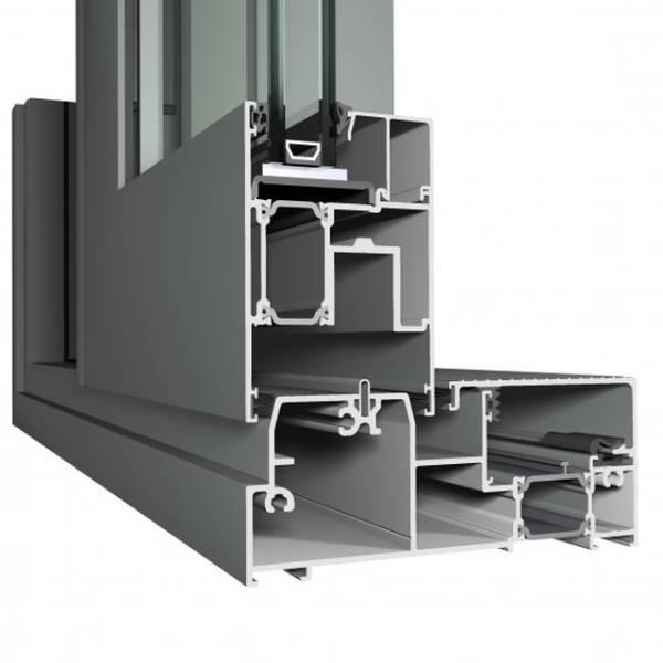 Aluminium Sliding Door CP 155 Concept Patio System