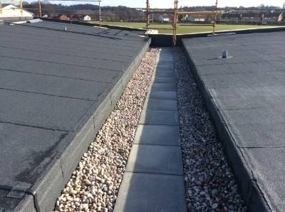 New-Build Retirement Block Receives the Benefits of both a Hot Melt, Bituminous and Cold Applied Liquid Roofing Systems