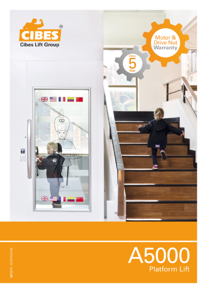 New A5000 Home and Commerical Lift Brochure